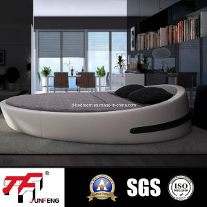 2016 Hot Sale Round Leather Bed J-20