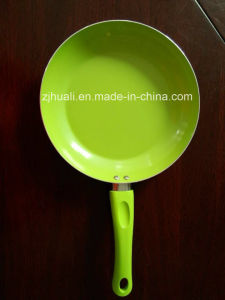 Green Aluminum Non-Stick Fry Pan