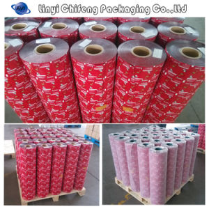 OEM Food Grade Plastic Film Roll/Food Packaging Plastic Film Roll pictures & photos