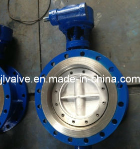 ANSI Flanged Butterfly Valve (WCB/SS304 RF Flanged 150LB) pictures & photos