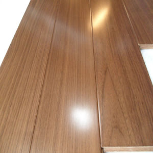Walnut Floating Parquet Wood Engineered Floor with Floating System