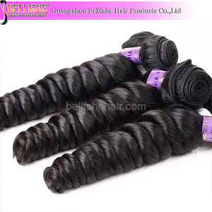 2015 Hot Sell 30′′ Loose Wave Virgin Remy Hair Brazilian Human Hair Weave