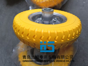 Caster Wheel Carretilla Neumatico Wheelbarrow Hand Truck Trolley PU Wheel 2.50-4 pictures & photos