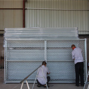 Hot Sale Galvanized Temporary Chain Link Fence pictures & photos