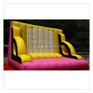 Reinforced PVC Tarpaulin Material Inflatable Sticky Wall
