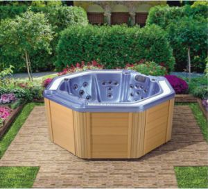 Luxurious LED Outdoor SPA Hot Tub for 7 Persons (Ceres) pictures & photos