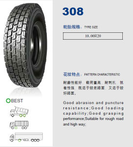 Cheap Annaite Brand New Radial Truck Tyre (308 10.00R20) pictures & photos
