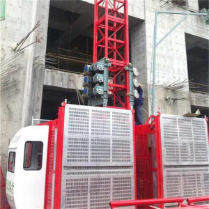 Ce 2t Construction Freight Elevator Hoist for Sale by Hsjj pictures & photos