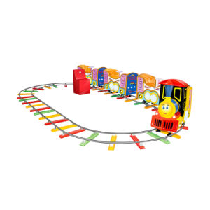 Track Train Game Machine Electric Coin Operated Kids Ride