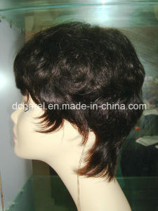 100% Virgin Natural Human Hair Wigs pictures & photos