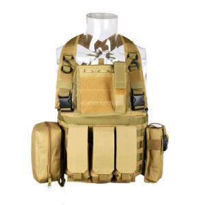 Military Bulletproof Tactical Mesh Molle Airsoft Vest Cl4-0025 pictures & photos