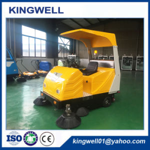 Rechargeable Electric Road Sweeper for Sale (KW-1760C) pictures & photos