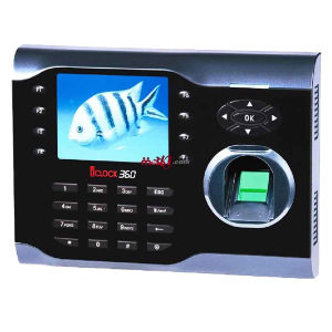 Iclock360 3.5 Inch Fingerprint Time Attendance with RS232/485, TCP/IP, USB-Host pictures & photos