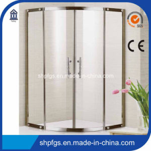 Tempered Glass Simple Shower Cabin