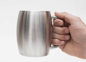 High Quality 18/8 Stainless Steel Coffee Mug Beer/Milk/Juice Mug with Handle pictures & photos