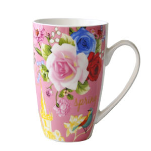Porcelain Cup Ceramic Coffee Mug (XLTCB-002 350) pictures & photos
