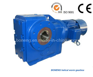 Boneng Helical Bevel Gearbox with Hollow Shaft