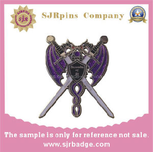 Wholesale Custom Enamel Metal Pin Badges/Custom Hard Enamel Metal Lapel Pins pictures & photos