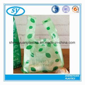 Quality HDPE Biodegradable Plastic T Shirt Bags