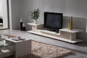 Luxury Marble Design Home Furniture Tv Stands D3304