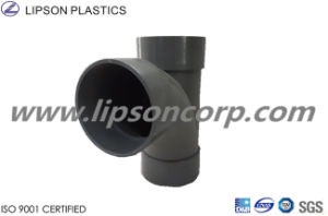 PVC Pipes Branch Tee Fittings Plastic Pipe Fitting pictures & photos