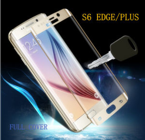 Tempered Glass Screen Protector for Samsung S6 Edge 3D Full Cover pictures & photos