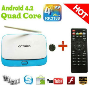 China New Rockchip Rk3188 Android 4 2 Smart TV Box Quad Core 2g DDR
