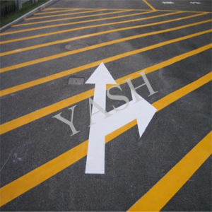 Yellow Roadside Safe Thermoplastic Road Marking Paint