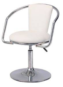 All Purpose White Nail Technician Chair Tkn 31972