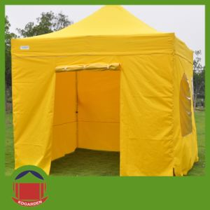 Steel Folding up Tent with Sidewalls & China Steel Folding up Tent with Sidewalls - China Display Tent ...