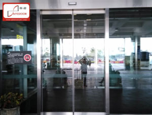 Automatic Door (1071.102) , Stainless Steel Frame Glass Door pictures & photos
