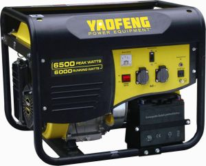 6000 Watts Portable Power Gasoline Generator with EPA, Carb, CE, Soncap Certificate (YFGP7500E1) pictures & photos
