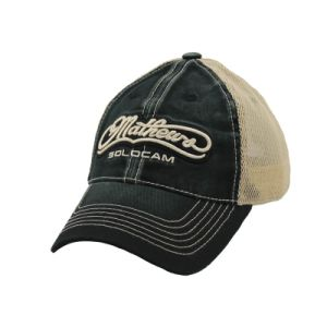 Embroidery Patch on Heavy Washed Cotton Trucker Cap pictures & photos