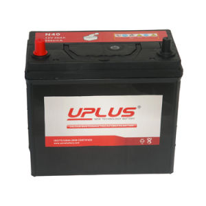 China OEM 12V 40ah SLA Storage Automotive Battery N40 pictures & photos