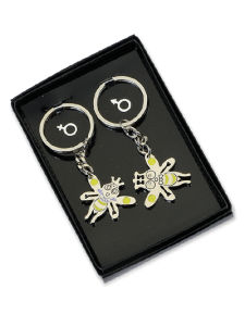 Fancy Bees Metal Keyring for Gift pictures & photos
