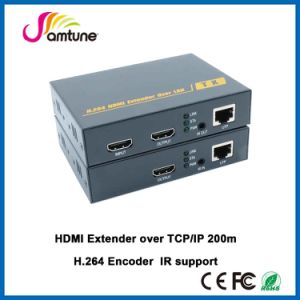 HDMI Extender Over Cat5 200m HDMI H. 264 Encoder