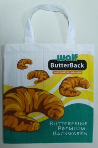 Promotional Eco Friendly Reusable Recyclable Made of 100% Cotton Bag