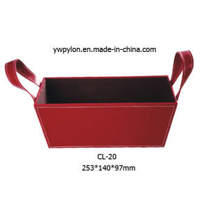 High Quality Leather Storage Box (CL-20)