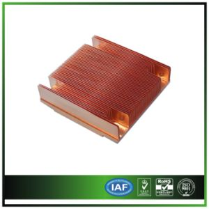 Copper Skived Heat Sink for 1 U Server pictures & photos