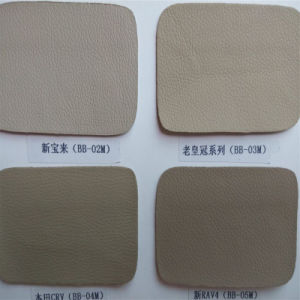 Microfiber PU Leather for Car Seat, Sofa, Shoes (HW-1627) pictures & photos