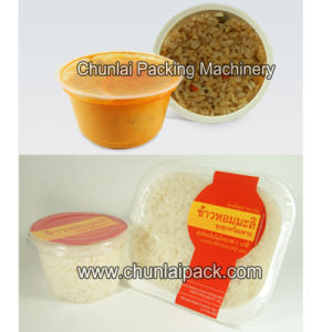 Automatic Porridge Bowl Filling and Sealing Machine pictures & photos