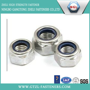 DIN985/DIN982 of Hex Nylon Insert Lock Nut pictures & photos