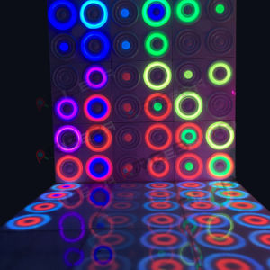 Patent IP65 Portable Dynamic Acrylic LED Dance Floor for Stage Light Wall Panel pictures & photos