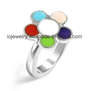Stainless Steel Jewelry Music Note Symbol Ring pictures & photos