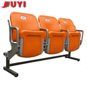 Blm-4352 Red Plastic Chairs for Stadium in China Folding Concert Outdoor Aluminum Public Chair pictures & photos
