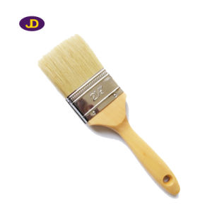 Wood Handle Pure Bristle Paint Brush for Decoration pictures & photos