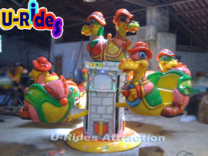 Dinosaur Rotating airplane Game Machine pictures & photos