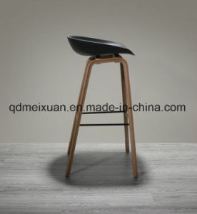 Contracted Northern Wind Fashion Creative Personality in Denmark Chair Stool Designer Solid Wood PP Bar Chair (M-X3660) pictures & photos