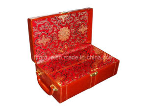 Decorative Gift Package Recycled Wholesale Leather Wine Box (FG8014) pictures & photos