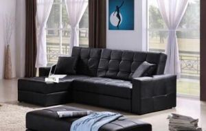 China Leather Sofa Bed Couch With